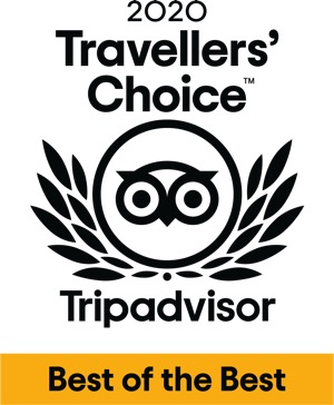 TripAdvisors Travellers choice for mtb cycling and hiking 2020