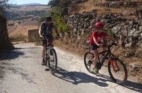 Family Cycling Day Out near Ronda