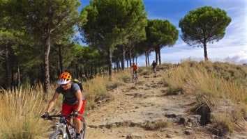 riding technical path from ronda