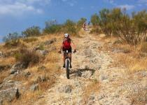 Challenging MTB riding near Ronda