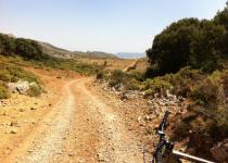 Lifa pass by mountain bike