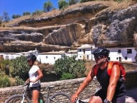 riders in the valley of setenil
