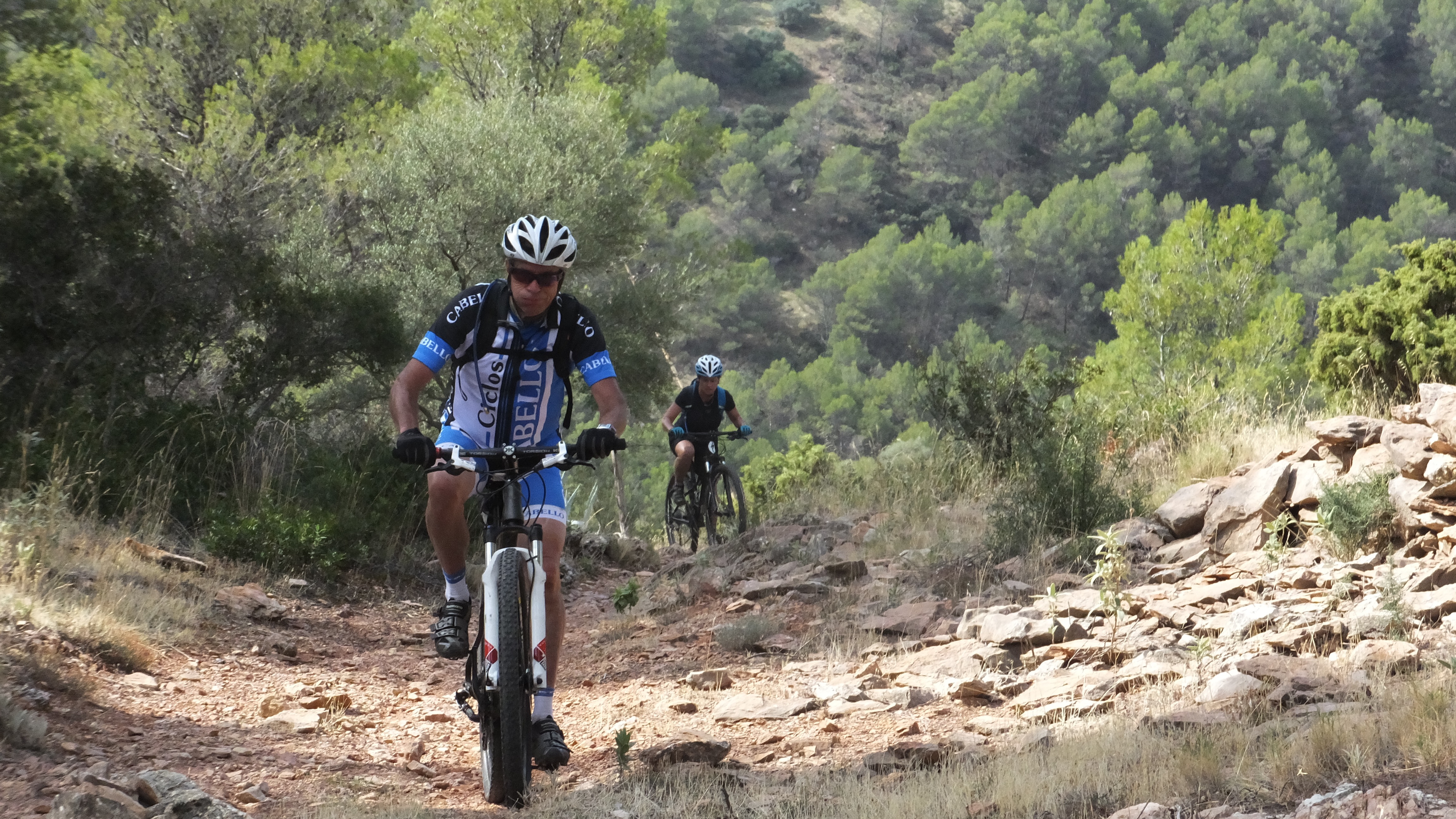 Mountain bike holidays in Andalucia Spain