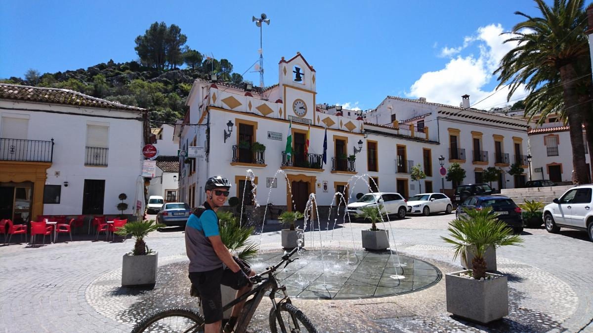 Biking in Montejaque