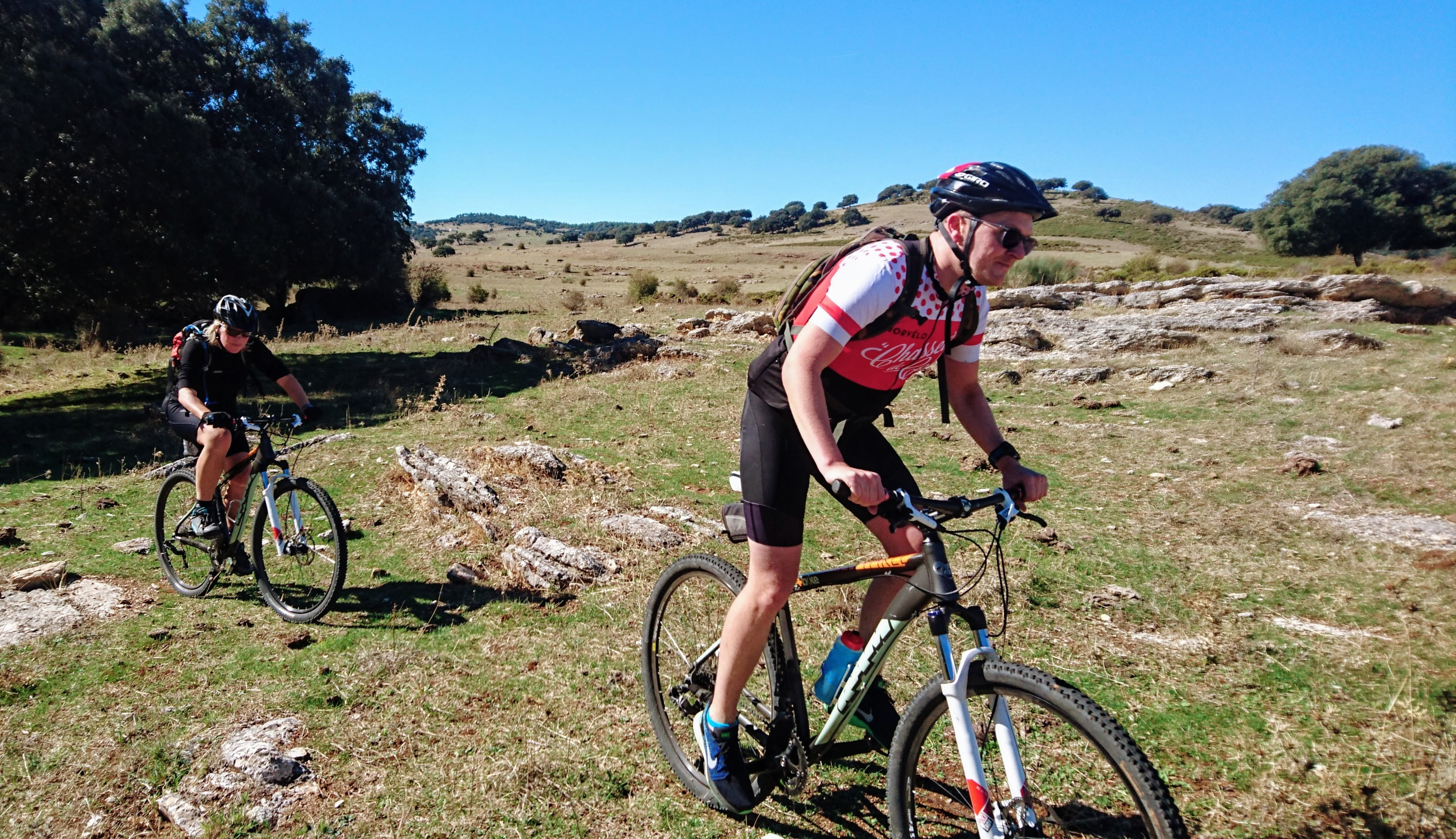 New Year mountain bike holiday