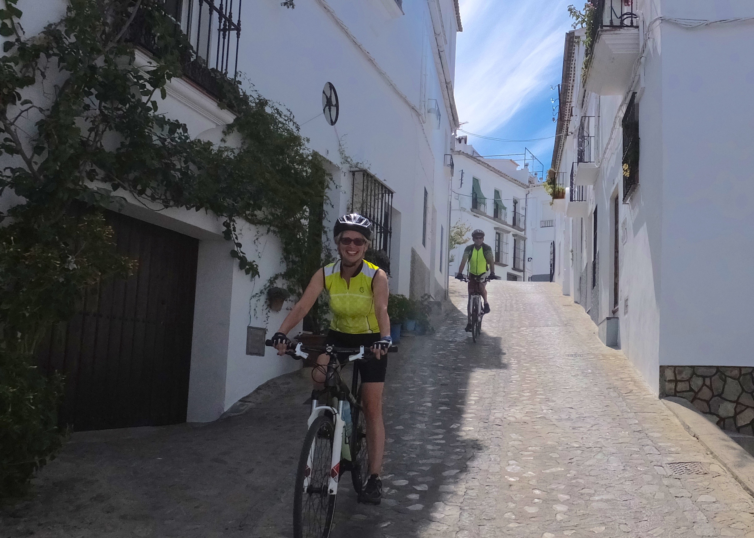 Cycling Andalucia white villages
